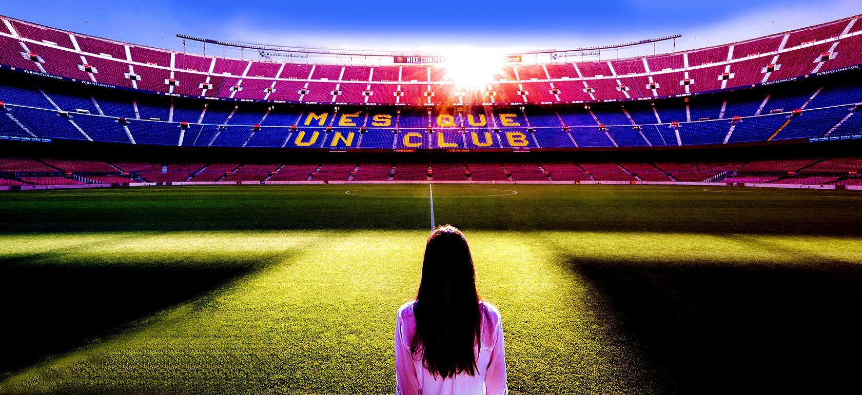 Voyage foot Barcelone